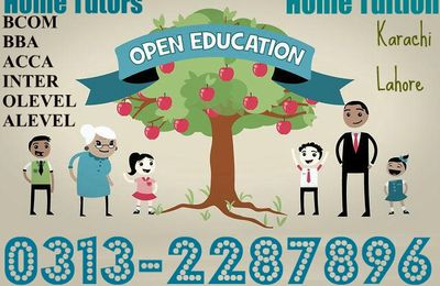 Commerce Home Tutors In Karachi - 0313-2287896 Accounting Home Tuition,Business Math Teacher, Statistics Tuition, O/A Level Tuition Center in Karachi