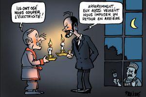 FRANCE : LA MISÈRE ÉLECTRIQUE, EN PETITES COUPURES