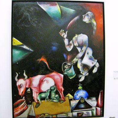 Marc Chagall, A la Russie, aux ânes et aux autres