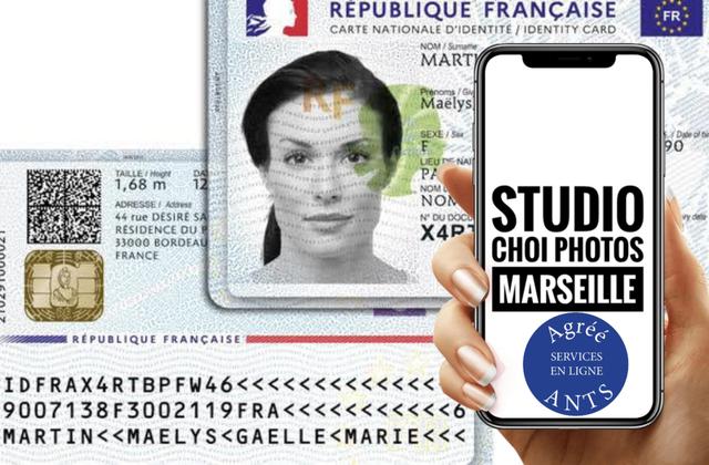 🇫🇷Nouvelle Carte Nationale d'Identité France 2021| Studio Choi Photos Agréé ANTS le spécialiste #1 de l'identité à Marseille🥇