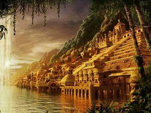 image 1 et 2 La légendes des cités d'or et de l'Eldorado