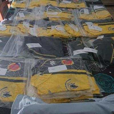 Nouvelles tenues du SCPO