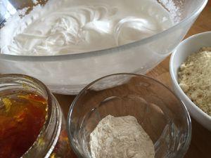 Biscuits dacquoise à l'orange amère