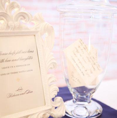 Bonbonnieres en verre mariage
