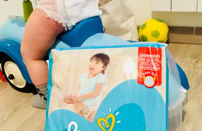 La galère de la couche qui fuit... La solution : Pampers Pants