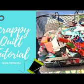 Scrappy Quilt Tutorial - How to Use Your Scrap Pile