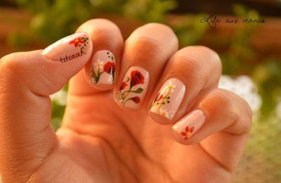 Manucure pastel pour sakura