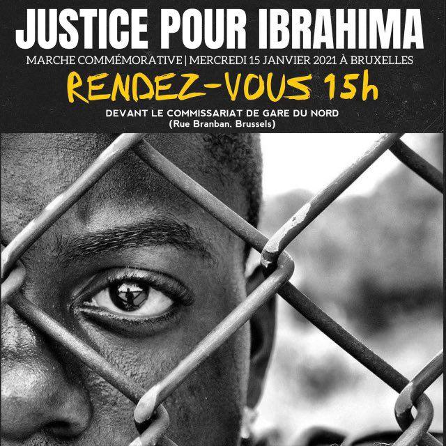 Affaire Ibrahima - Un rassemblement est organisé ce mercredi 13 janvier, à 15h, devant le commissariat de Gare du Nord