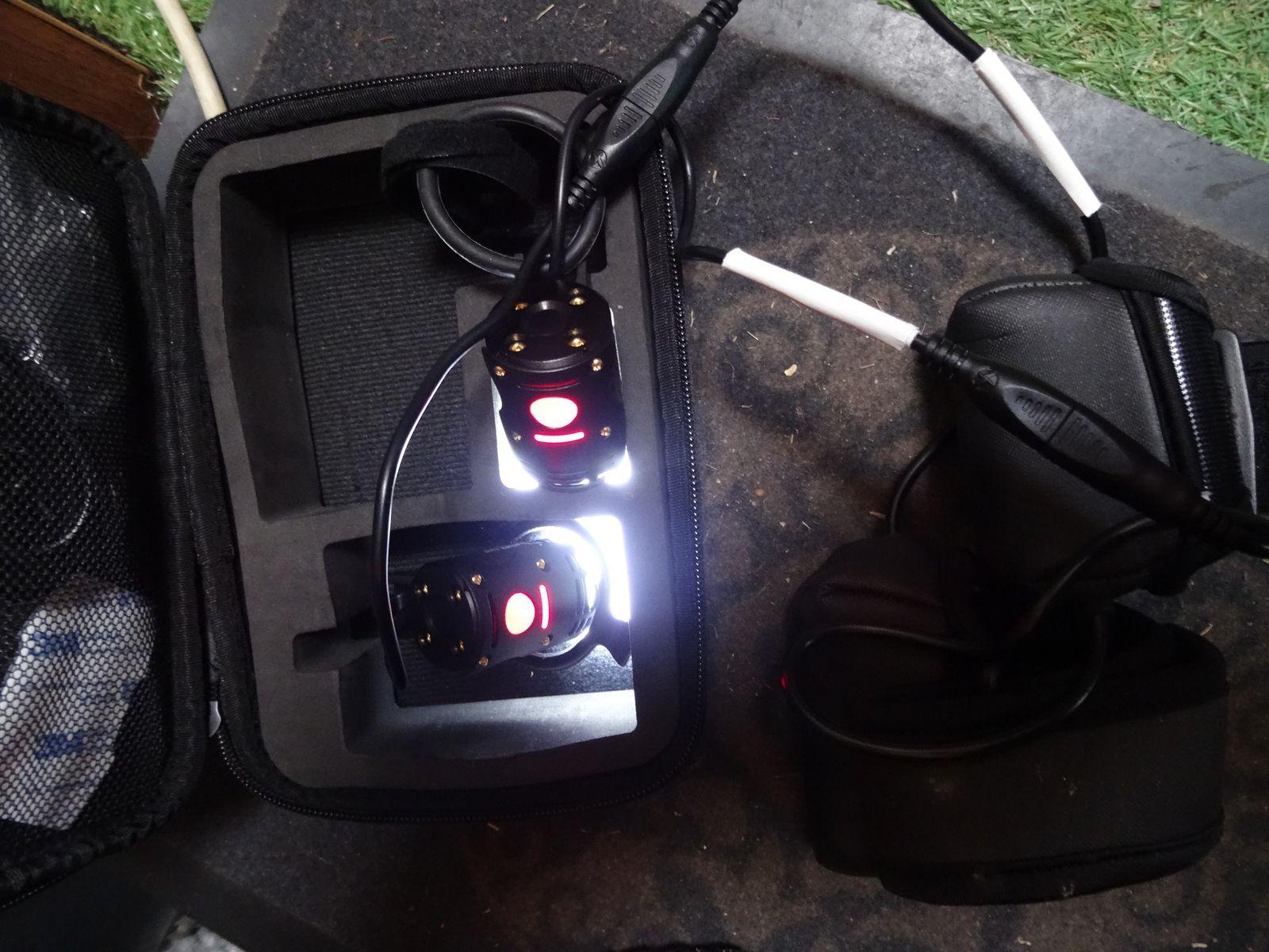 Test lampe THOR 1100 Spanninga sur une rando nocture le 9 octobre 2020 (Bédoin - 84)