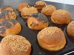 PETITS PAINS HAMBUGERS au cook'in