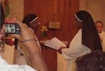 VINGT CINQ ANS DE VIE RELIGIEUSE DE SOEUR NICAISE