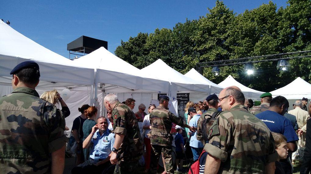 22 et 23 juin : plus de 330 donneurs pour les collectes au profit des blessés de l'armée de terre.
