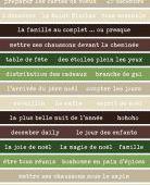 FDSE04702 : Etiquette un air de noël - Bandes de mots noël FEE DU SCRAP