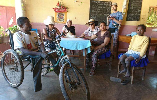 11 BEZAHA - 2ème visitation qui se termine à BETIOKY avec Sr Thècle : 19-20-21 Juillet 2017