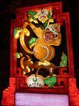 Les animaux du zodiaque chinois au Festival des lanternes chinoises à Gaillac...