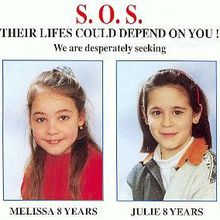 En mémoire à Julie et Mélissa