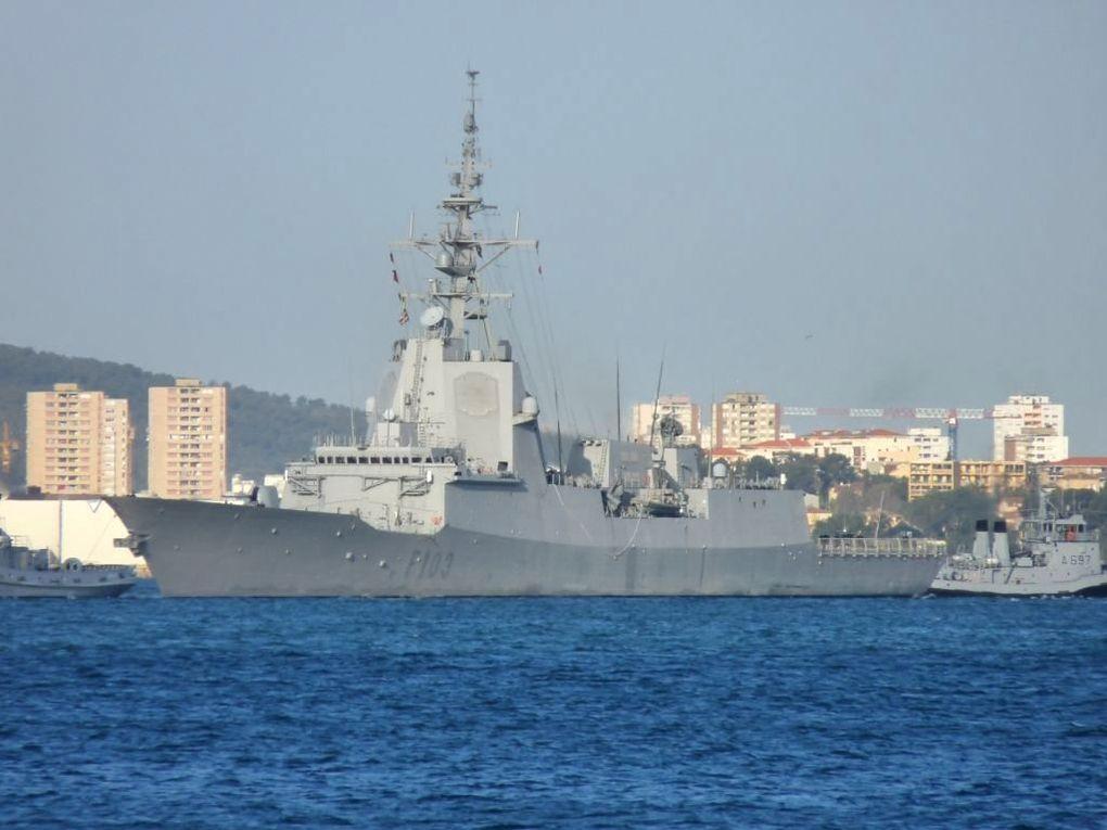 BLAS DE LEZO  F103 , frégate de la marine espagnole
