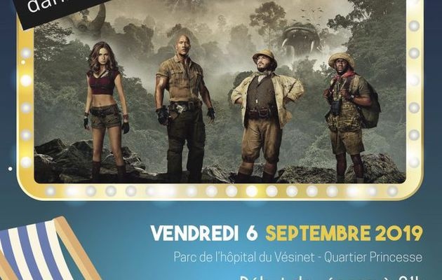 Jumanji en plein air au Vésinet