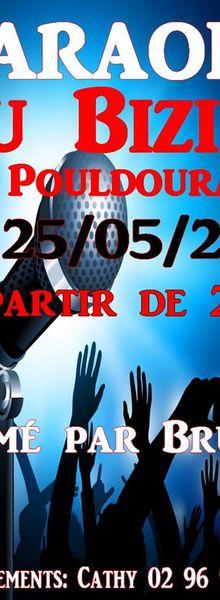 Bar à thèmes : A Pouldouran grande soirée Karaoke animée par Bruno BOISRAME
