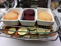 Monsieur Meledo, le gérant de l'Omnicuiseur Vitalité. Il nous a fait déguster ses plats cuits dans l'Omnicuiseur ... un délice !!
