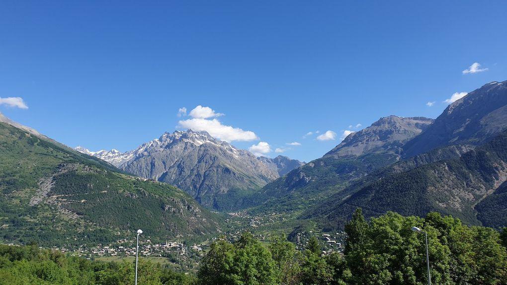 Les dernières images du Pays des Écrins. La montagne, of course.