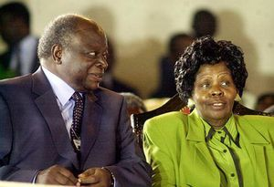 Former First Lady Lucy Kibaki was on Friday morning admitted to the Intensive Care Unit after falling ill the previous night.