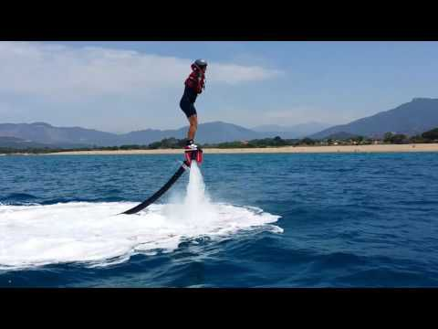 Le flyboard et le dauphin.