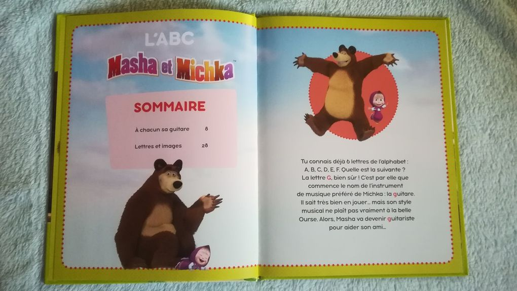 L'ABC de Masha et Michka - Collection N°7