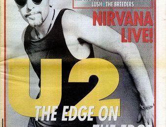 U2 -Magazine Melody Maker -31 juillet 1993