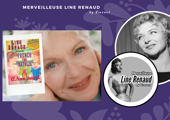 "LIVRES AUDIO: Line Renaud Performs ""French for Nathalie a new friend"