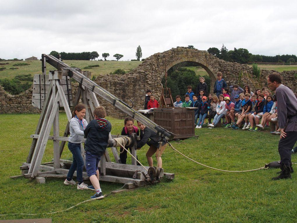 CE2 : magnifique journée au château de Tiffauges