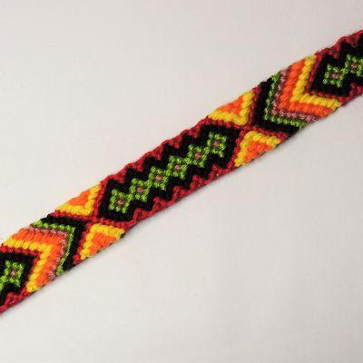 Bracelet brésilien bohème hippie au couleur de l'été