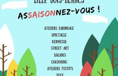 Les FestiFamilles Lille Bois Blancs du mardi 21 au mercredi 29 mai 2019 - Programme à venir