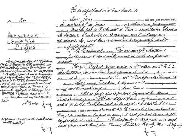 Nés à Algrange (Algringen) et morts pour la France entre 1939 et 1945