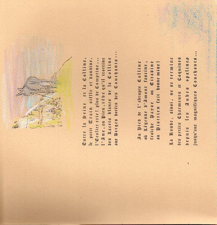 En ma douce Eure, ouvrage édité par Simone Sauteur en 1983. Il y est question de résistance dans le Vièvre, de Robert Leblanc et de Madame De-Lattre-de-Tassigny. Document numérisé par Alain Corblin.