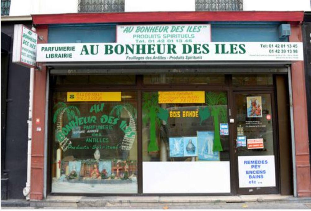 Au bonheur des îles, spritualité, ésotérisme et quimbois à Paris