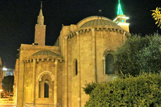 Beyrouth by night