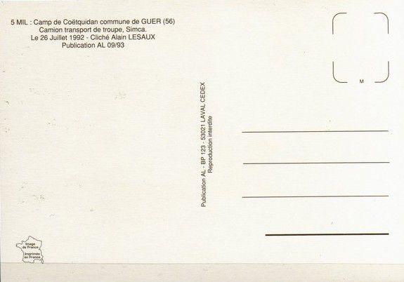 Carte postale d'Alain Lesaux