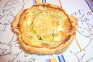 Tartelettes courgettes/feta