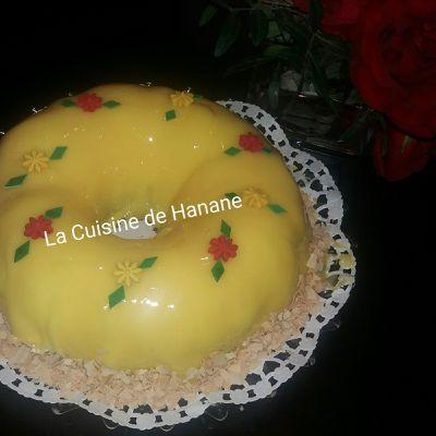 Gâteau au glaçage miroir