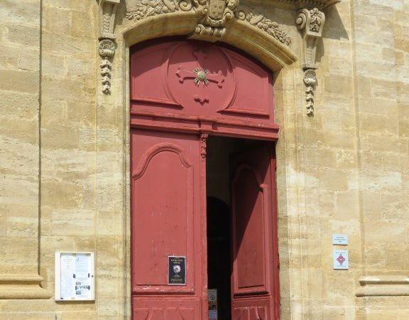 La porte d'entrée actuelle...
