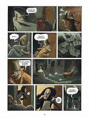 Oliver Twist. 1/5. D'après Charles DICKENS. Loïc DAUVILLIER et Olivier DELOYE – 2007 (BD)