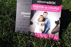 Notre shooting photo avec shootingbox