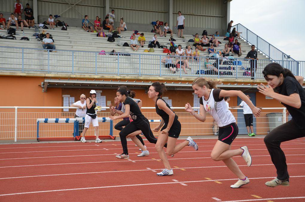 Championnat d'Académie d'Athlétisme individuel 2012/2013