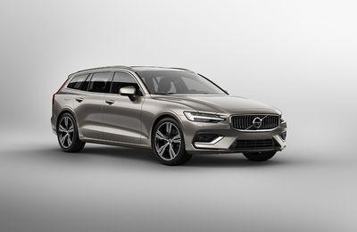 La Volvo V60 en détails