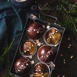 Cadeau gourmand : bombe chocolat chaud