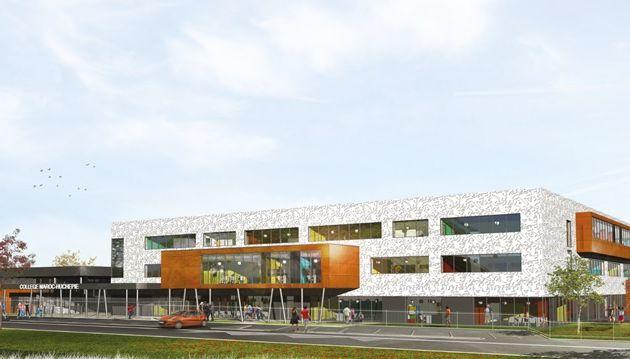 Reconstruction des collèges d'Arnage et du Maroc, les travaux débuteront dès cet été