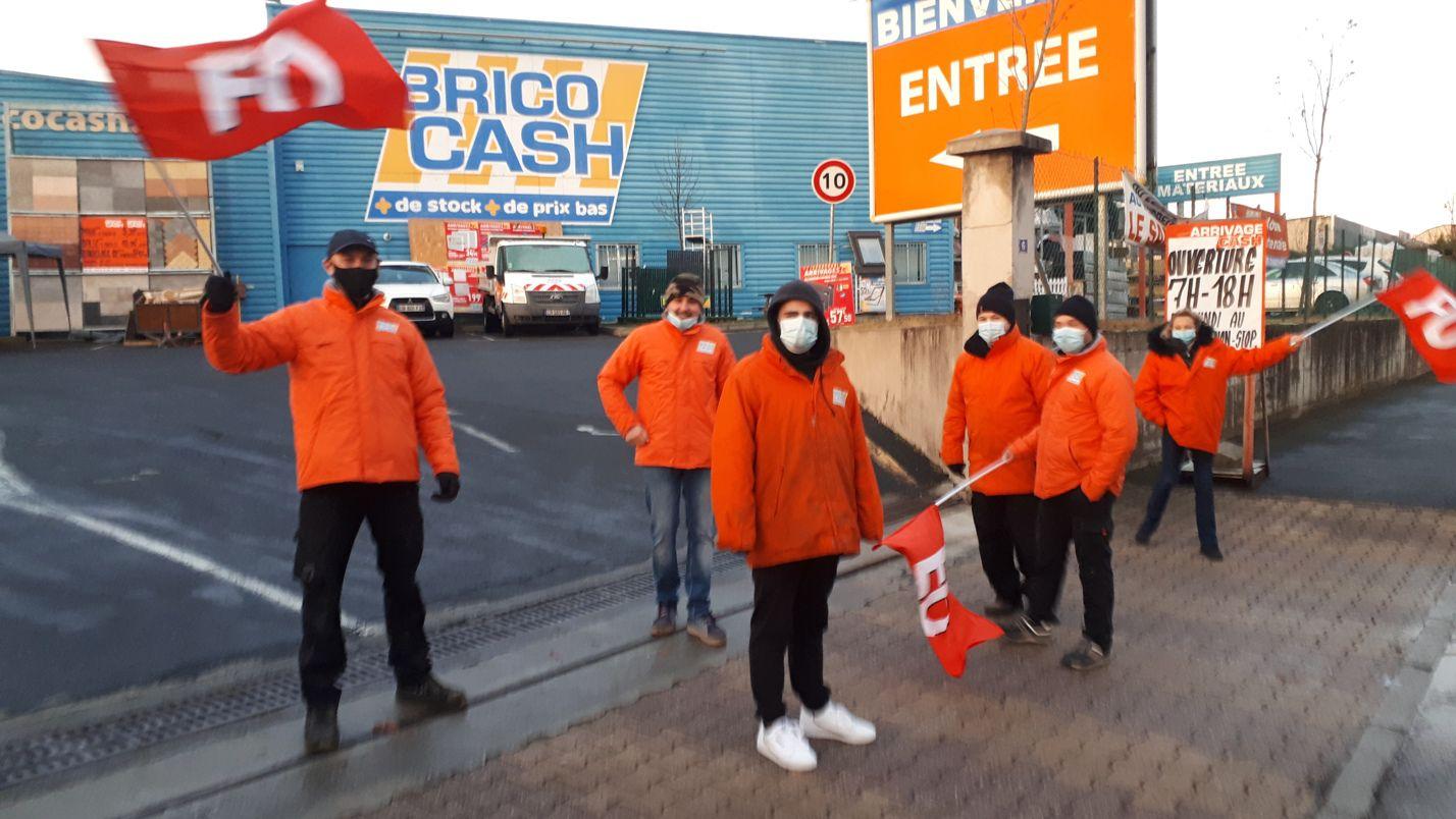 Bricocash à Brives Charensac : grève gagnante !