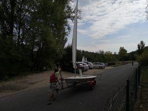 Préparation et mise à l'eau des bateaux