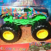 CLOWN TOWN MONSTER JAM HOT WHEELS 1/64 - car-collector.net